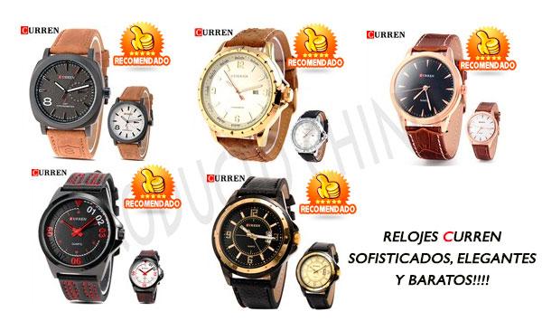 Relojes finos marca Curren