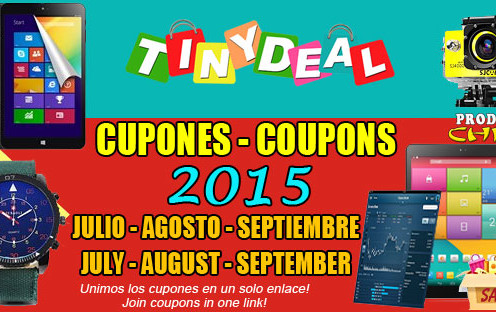 TinyDeal Coupons, Sales & Promo Codes. For TinyDeal coupon codes and deals, just follow this link to the website to browse their current offerings.