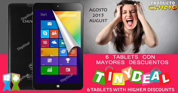 Coupon tinydeal tablet