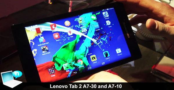 Lenovo Tab 2 A7-10 y A7-30