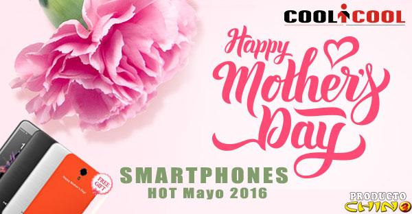 Coolicool Smartphones HOT Mayo 2016