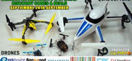 Quadcopters Códigos Descuento Ofertas Septiembre 2016