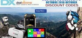 Códigos Descuento Dealextreme Octubre 2016