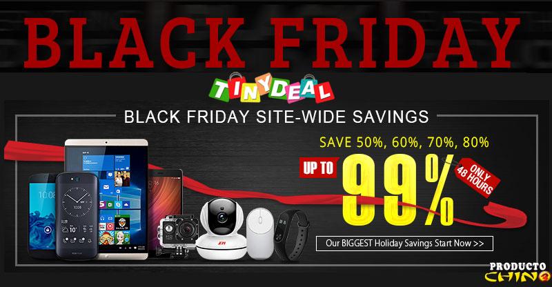 Black Friday 3 días de locura en TinyDeal