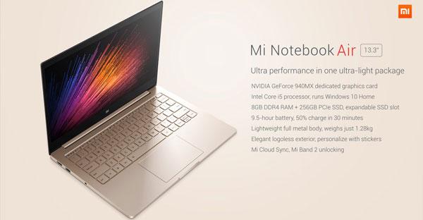 Regale un Xiaomi Air 13 Laptop esta navidad