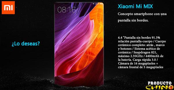 Xiaomi Mi MIX el mejor gama alta ¿Dónde comprarlo?