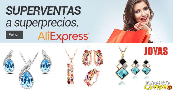 7 rebajas en Joyas por el 7º Aniversario de Aliexpress