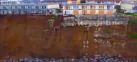 Video: Drone revela erosión en la Costa del Pacífico de los Estados Unidos