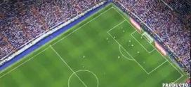 El gol y celebración de Leo Messi visto desde un drone en el Bernabéu ¡Nadie lo marca!