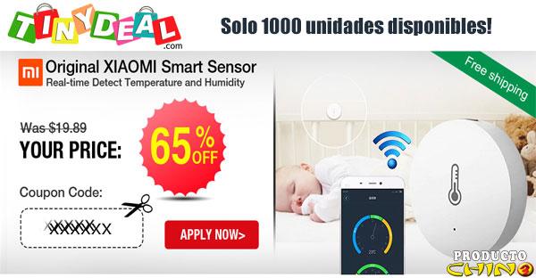 65% Descuento!!! Sensor inteligente original Xiaomi en Tinydeal [Stock limitado]