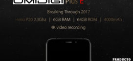 UMIDIGI Plus E el Móvil más barato con 6GB de RAM