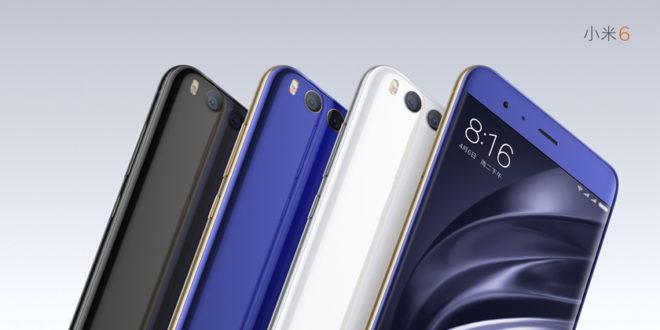 Xiaomi Mi6 vendrá en 11 colores! + Dónde comprarlo!
