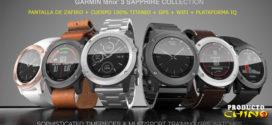 Reloj Inteligente de titanio Garmin FENIX 3 Sapphire + Donde Comprarlo