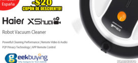 Haier XShuai ShuaiXiaoBao Robot Aspirador Geekbuying Cupón Descuento [Almacén España]
