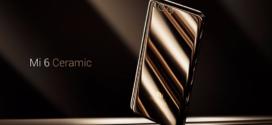 Xiaomi Mi6 Cuerpo de Cerámica se agota rápido ¿Dónde comprarlo?
