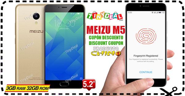 Meizu M5 3GB RAM Cupón Descuento Tinydeal