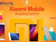 Carnaval de Ofertas de Móviles Xiaomi en Geekbuying
