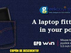 GPD Win Cupón Descuento Geekbuying