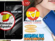 Xiaomi Mi6 6GB RAM Cupón Descuento Alegrecompra [Almacén España]