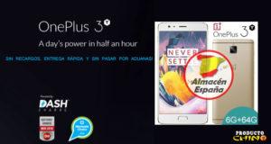 OnePlus 3T 6GB RAM Comprar Almacén España Alegrecompra