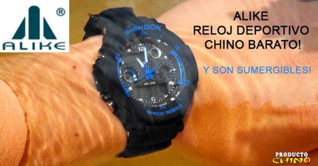 Alike reloj deportivo chino barato!