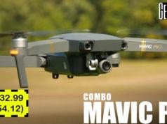 DJI Mavic Pro Combo Cupón Descuento Gearbest