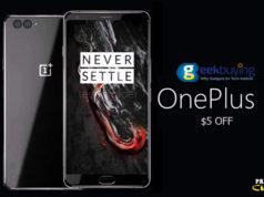 OnePlus 5 Cupón Descuento Geekbuying [Ahorre $5]