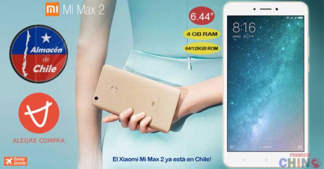 Xiaomi Mi Max 2 4GB RAM Alegrecompra Chile
