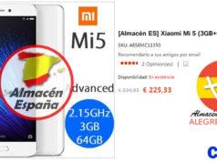 Xiaomi Mi5 Oferta Alegrecompra Almacén España
