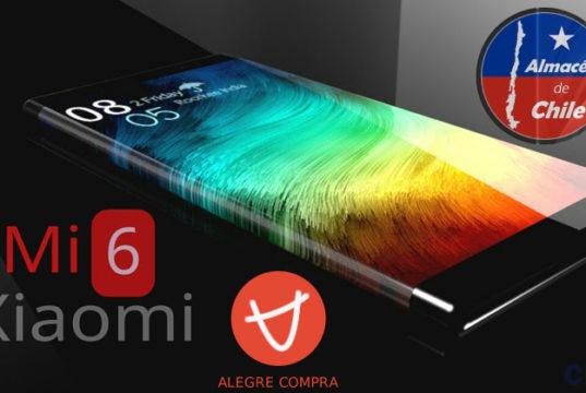 Xiaomi Mi6 6GB RAM Alegrecompra Chile