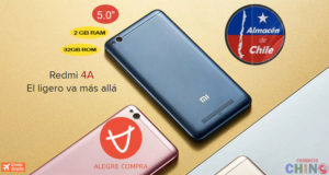 Xiaomi Redmi 4A 2GB RAM Alegrecompra Chile