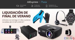 Aliexpress España Liquidación Final Verano 2017