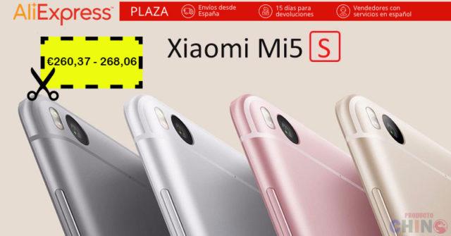 Oferta para Xiaomi Mi5s 3GB RAM Aliexpress Plaza España