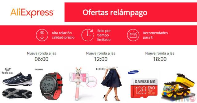 Ofertas Relámpago Aliexpress 2017
