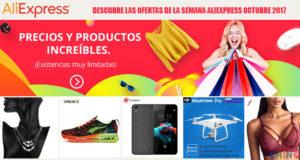 Descubre las ofertas de la semana Aliexpress Octubre 2017
