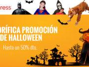 Terrorífica promoción de Halloween 2017 en Aliexpress