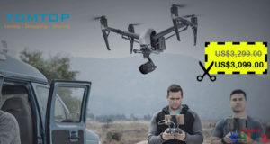 $200 Descuento para Drone DJI Inspire 2 en Tomtop