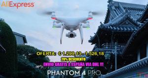 20% Descuento para DJI Phantom 4 Pro Aliexpress