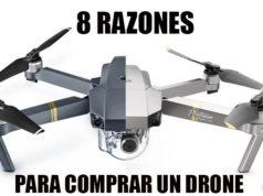 8 razones para comprar un drone