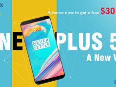 $30 Descuento para OnePlus 5T Geekbuying
