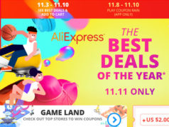 Aliexpress 11.11 las mayores rebajas del mundo en 2017