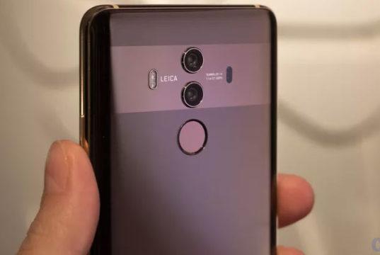 Huawei Mate 10 Gama Alta con inteligencia artificial