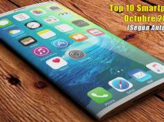Top 10 Smartphones Octubre 2017 según Antutu