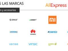 Aliexpress Zona de Marcas para Móviles y Accesorios