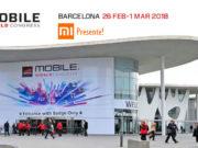 Xiaomi tendrá presencia en MWC 2018, se espera el lanzamiento del Mi7