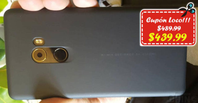 Solo $439.99 para Xiaomi Mi Mix 2 Gearbest