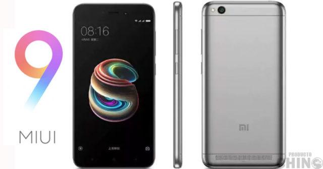 Xiaomi Redmi 5A MIUI 9 Global Estable lanzado ya!