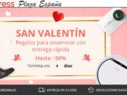 San Valentín 2018 en Aliexpress Plaza España - Regalos para Enamorar