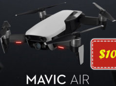 Solo $1039 para DJI Mavic Air Combo en Geekbuying