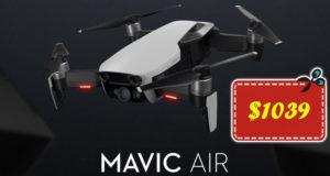 Solo $1039 para DJI Mavic Air Combo en Geekbuying